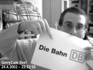 Gerrit und Die Bahn-Logo