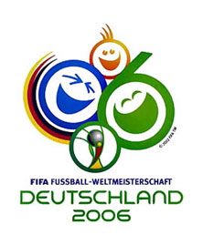 Logo der Fu�ball-WM 2006 in Deutschland