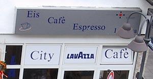 Cafe mit Apostroph