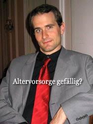 Gerrit im Anzug