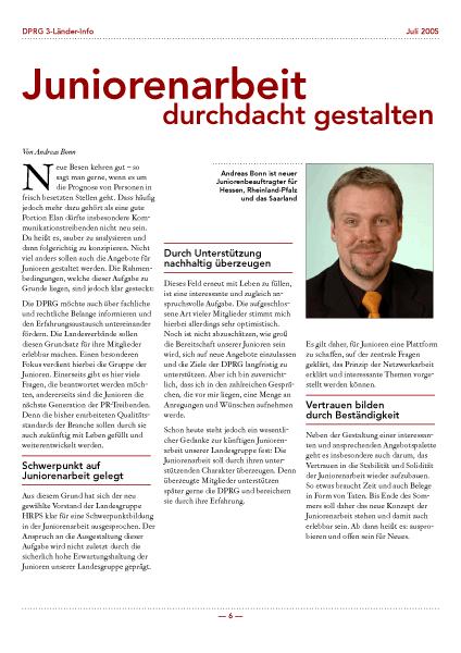 DPRG Newsletter