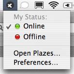Plazes Launcher f�r MacOS X
