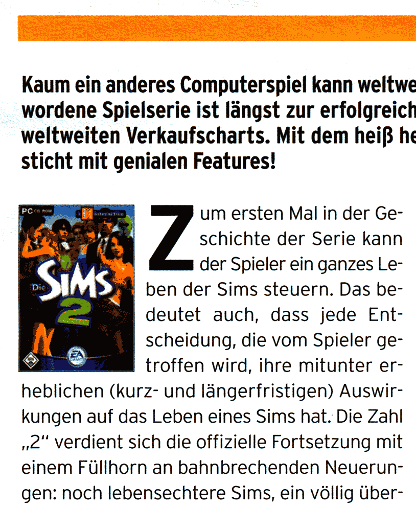 Sample aus dem King Magazin
