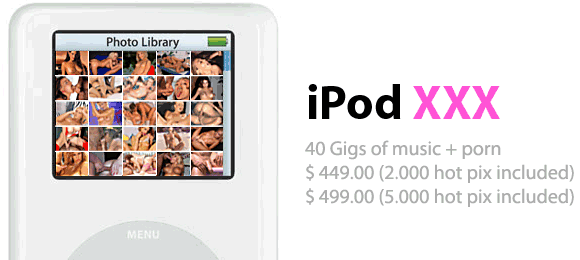 iPod XXX