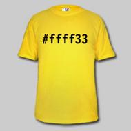 Hexafarbenshirt #ffff33