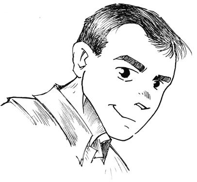 Gerrit als Manga-Zeichnung