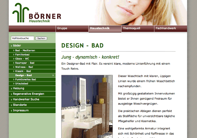Boerner Gruppe Website Screenshot