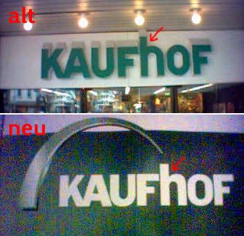 kaufhof logos