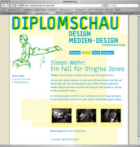 Diplomschau