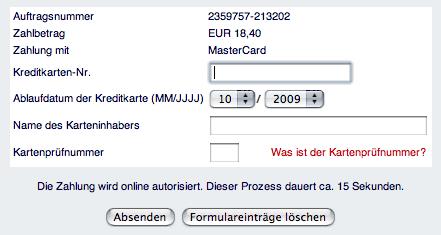 Web-Formular