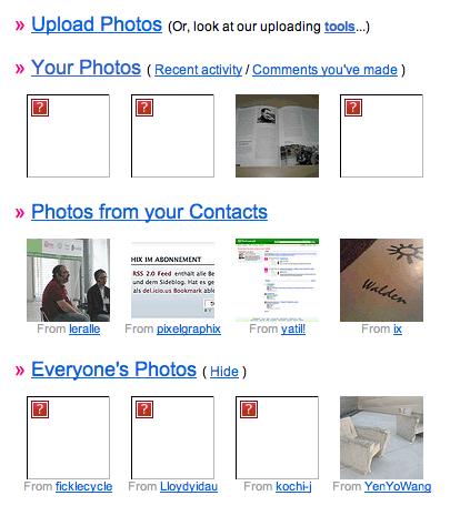 Flickr Fotos
