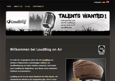 Loudblog on air