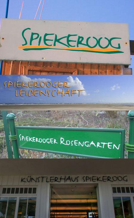 Spiekerooger Typografie