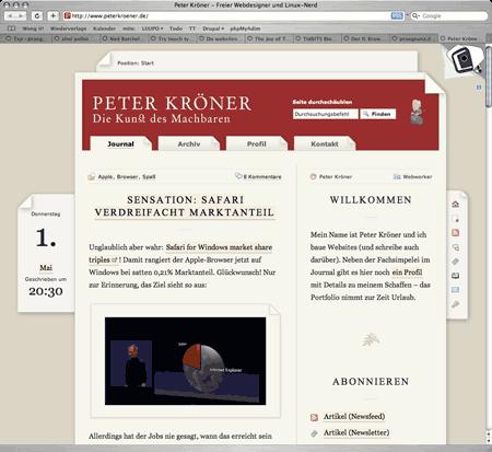 Peter Kr�ners Weblog