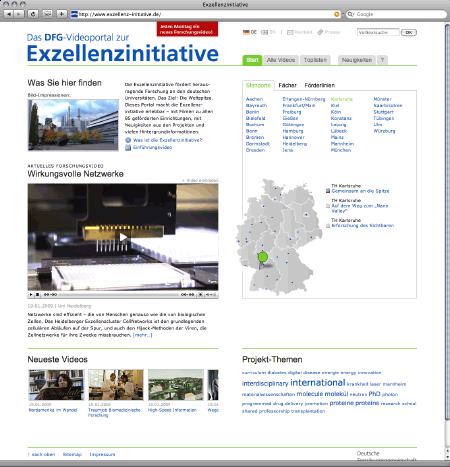 Videoportal Exzellenzinitiative