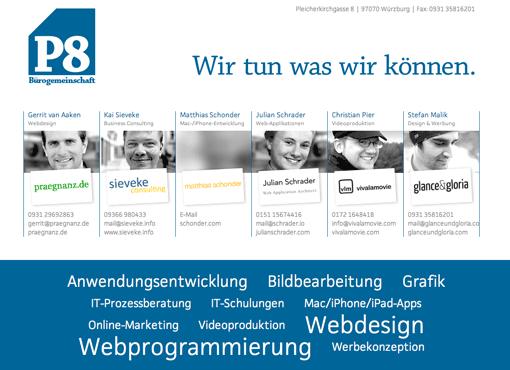 P8 Website