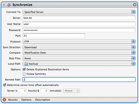 Synchronize Workflow