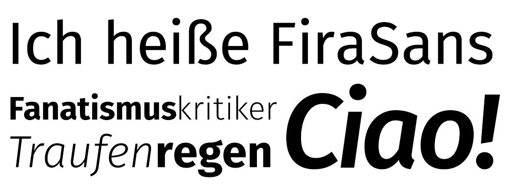 Sechs kostenlose Schriftfamilien ohne Serifen   praegnanz de